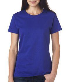 5000L Gildan Heavy Cotton™ Ladies' T-Shirt Cobalt
