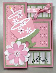 multi fold out card----very cute