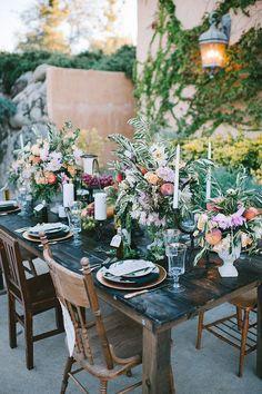 Gorgeous Wedding Tablescape