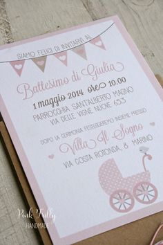 Pink Frilly: Un battesimo col cuore