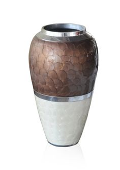 NAYLOR VASE - Dimensions : H35.5 x D21.5 cm; PRICE : Rs. 2250/-;  Buy Now : http://tfrhome.com/landing/productlandingpage.php?product_code=ma-18