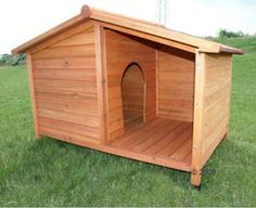 Dog houses  Insulated dog houses and Build a dog house on PinterestInsulated dog house plans for large dogs