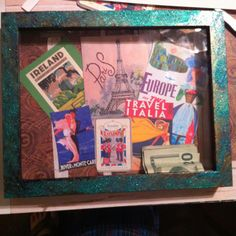 Money saving shadow box great ideas pinterest for Money saving box ideas