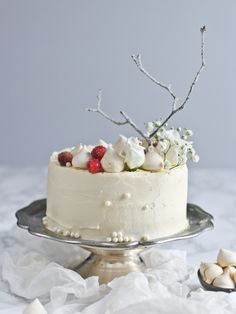 New year's eve coconut cake
