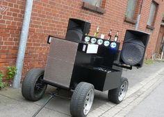 Ein Bollerwagen-Tuning vom Feinsten :-)