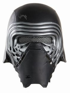STAR WARS COSTUMES: : Star Wars The Force Awakens - Mens Kylo Ren Face Mask to complete your replica Kylo Ren Costume $16.99