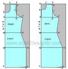 Straight Kameez Cutting-Sewing Tutorial | Style2Designer
