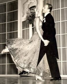 """Fred Astaire and Rita Hayworth   """"The higher up you go, the more mistakes you are allowed. Right at the top, if you make enough of them, it's considered to be your style."""""""