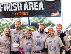 tough mudder of 2015 || Richard Speight, Jr. || Jared Padalecki || Osric Chau Jason Manns || Rob Benedict || Jensen Ackles || dirty boys #Supernatural