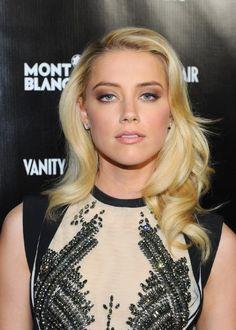 Amber Heard, neutral lips...