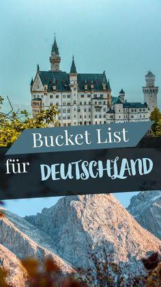 The Germany Bucket List! The Germany Bucket List! The post The Germany Bucket List! appeared first on Deutschland. Europe Destinations, Holiday Destinations, Trailers Camping, Lac Tahoe, Koh Lanta Thailand, Reisen In Europa, Voyage Europe, Road Trip, Destination Voyage