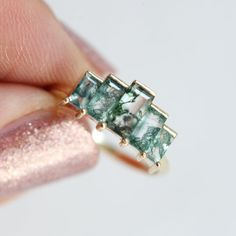 CZ # Ring - Gold Plated or Sterling Silver Material: Sterling Silver Plating: Price per ring Trendy Jewelry, Jewelry Trends, Baguette Engagement Ring, Engagement Rings, Aquamarine Jewelry, Crystal Jewelry, Gemstone Jewelry, Silver Jewelry, Ring Size Guide