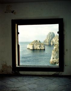 Casa Malaparte. Capri, Italy. Photo by Francois Halard.