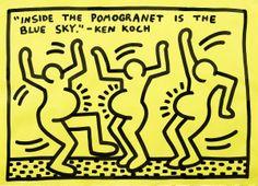Keith Haring, Senza titolo, 1983 Stima € 80.000/140.000 lotto 451