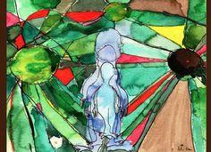 Amir Slama lança linha de lenços e parêos com estampas desenvolvidas pelo artista plástico - e filho - Artur Slama | Chic - Gloria Kalil: Moda, Beleza, Cultura e Comportamento