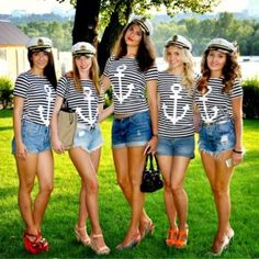 Nautical themed hen party