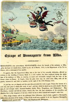 Escape of Bonaparte from Elba