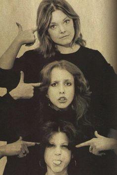 Jane Curtin, Laraine Newman & Gilda Radner