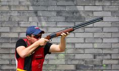 olympic skeet shooting, sports photography