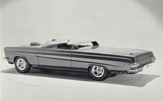 1965 Mercury Comet Cyclone Sportster Concept
