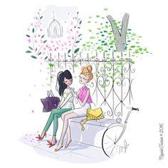 Illustration Mignonne, Illustration Sketches, Character Illustration, Illustrations Posters, Illustration Photo, Beautiful Sketches, Naive Art, Portfolio, Cute Drawings