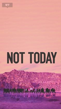 bts not today wallpaper | Tumblr