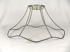 Lamp shade frame antique floor large fancy cut corner square lamp shade wire frame uno oval for bridge light greentooth Image collections