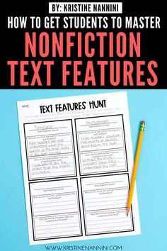 Help upper elementary kids master nonfiction text features with the ideas, FREE downloads, and teaching tips at this blog post. Make reading to learn easier for 3rd, 4th, 5th, and 6th grade students. Details for graphic, informational, and organizational aids are included - as well as print features. An anchor chart, whole class practice, freebies, partner work, & more. #3rdGradeReading #4thGradeReading #5thGradeReading #6thGradeReading