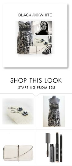 """""""Black and White"""" by styledonna on Polyvore featuring moda, 3.1 Phillip Lim, Bobbi Brown Cosmetics, Nine West i vintage"""