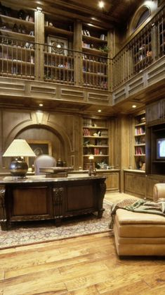 Luxury home study- - -this looks like the downtown library