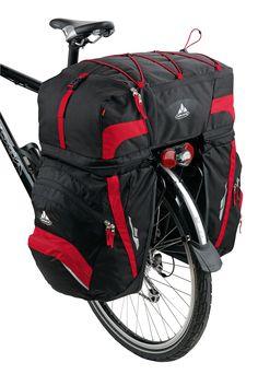 VAUDE - Karakorum - Fahrradtasche schwarz/grün