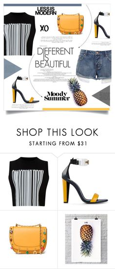 """Untitled #158"" by d-meggy ❤ liked on Polyvore featuring Alexander Wang, Vionnet, Serfontaine, Valentino, La Pina and xO Design"