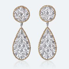 Buccellati - Earrings - Pendants d'oreilles Ramage - Jewelry