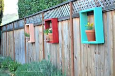 DIY Ideas for the Outdoors - Redwood Flower Frames - Best Do It Yourself Ideas for Yard Projects, Camping, Patio and Spending Time in Garden and Outdoors - Step by Step Tutorials and Project Ideas for Backyard Fun, Cooking and Seating http://diyjoy.com/diy-ideas-outdoors