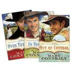 I wouldn't say I was a fan of western novels, but I certainly became one after reading this series!!  I laughed, I sighed, I bit my nails, and loved them so much that as soon as I finished book #3, I picked up #1 and started the series all over again!  Highly recommend this author!!!!  Out of Control, In Too Deep, Over the Edge - The Kincaid Brides Series by Mary Connealy