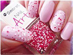 Secret Nail Art nr 229 Red and White Dots PL Lakier do poaznokci Secret Nail Art 229 Czerwone i Białe Kropki #secretnailart #nails #dots