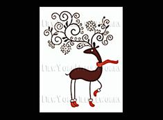 Reindeer Pattern Cross Stitch Pattern by NewYorkNeedleworks, $8.50