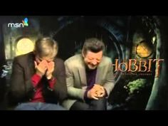 Martin Freeman's HILARIOUS Gollum Impression! The Hobbit Movie!