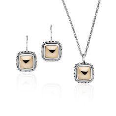 NAJO Butterscotch Necklace & Earrings