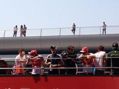 Drivers' Parade - 2013 Chinese GP