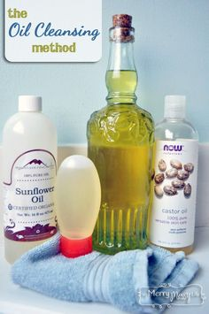 My Merry Messy Life: The Oil Cleansing Method - Natural and Non-Toxic Face Cleansing with Oil
