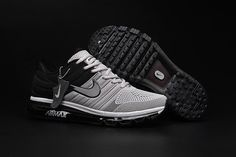 Nike Air Max 2017 Men Grey Black Shoes [airmax-108] - $65.99 : | nike and adidas shoes online store | Scoop.it