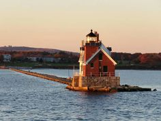 Rockland ME breakwater lighthouse