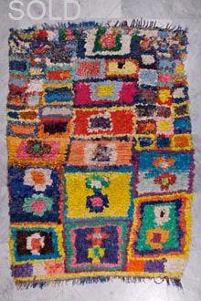 boucherouite rag rug 1101_bs010