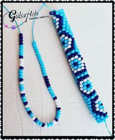 ✔ Jewelry Making For Kids Beads Tutorial Crochet Bracelet Pattern, Crochet Beaded Bracelets, Bead Crochet Patterns, Bead Crochet Rope, Beaded Anklets, Beaded Jewelry Patterns, Bracelet Patterns, Beaded Necklace, Necklace Set