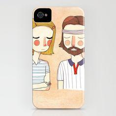 Royal Tenenbaums iPhone Case