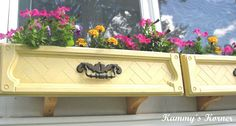Kammy's Korner: Dresser Drawer Window Boxes {New And Improved!}
