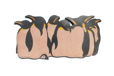 penguin clutch by FishBornChips Clutch Bag, Penguins, Rooster, Fish, Bags, Creema, Chips, Handmade, Fashion