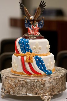 Eagle Scout Cake, Eagle Scout Gifts, Retirement Party Decorations, Retirement Parties, Retirement Ideas, 4th Of July Cake, Fourth Of July, Eagle Scout Ceremony, Promotion Party