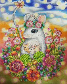 #blomstermandalacoloringbook  #mariatrolle
